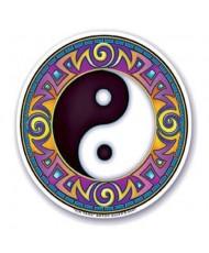 Adesivo per finestra yin yang