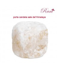 portacandelina di sale dell'Himalaya