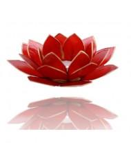 Portacandelina fiore di loto 1 chakra