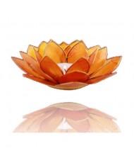 Portacandelina fiore di loto 2 chakra