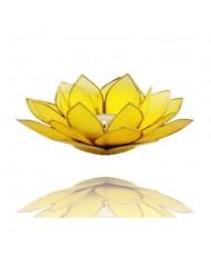 Portacandelina fiore di loto 3 chakra