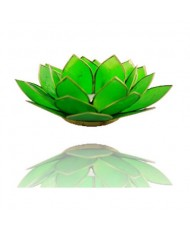 Portacandelina fiore di loto 4 chakra