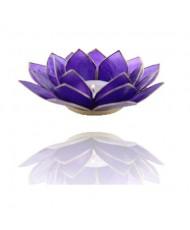 Portacandelina fiore di loto 6 chakra