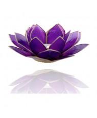 Portacandelina fiore di loto 7 chakra