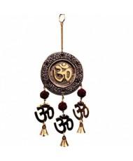 Decorazione tre campanelle simbolo Om