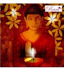 Stampa su tela Buddha Luce
