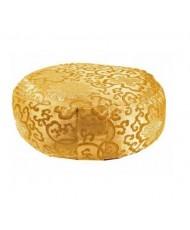 Cuscino meditazione nepal oro