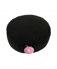 Cuscino meditazione tondo colore nero