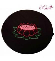 Tappetino per cuscino loto nero