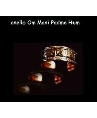 Anello Om Mani Padme Hum