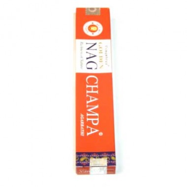 Incenso Golden Nag Champa rosso