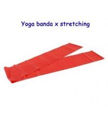 Yoga banda per stretching rossa