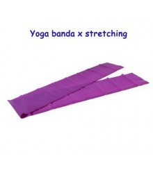 Yoga banda per stretching viola