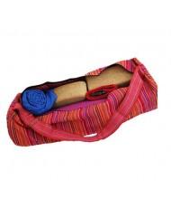 Borsa Yoga sacca multicolore rosa