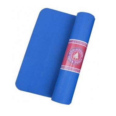 Tappetino yoga antiscivolo azzurro