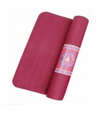 Tappetino yoga antiscivolo rosa scuro