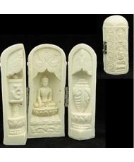 Buddha nel tempietto